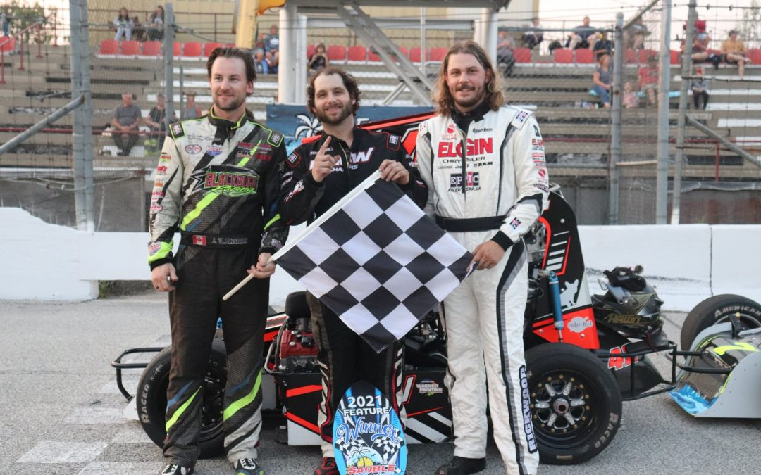 Hawn Victorious in Race #2